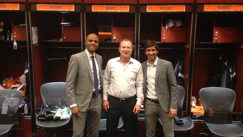 LaLiga y el RCD Mallorca comparten una jornada de trabajo con los Phoenix Suns