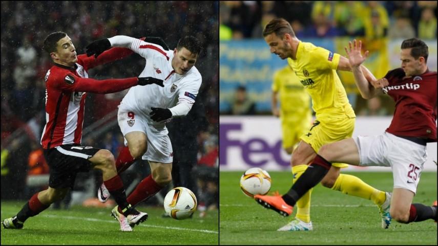 Sevilla, Athletic y Villarreal buscan el pase a las semifinales de la Europa League