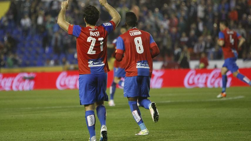 La estrategia de Rubi le da tres puntos de oro al Levante