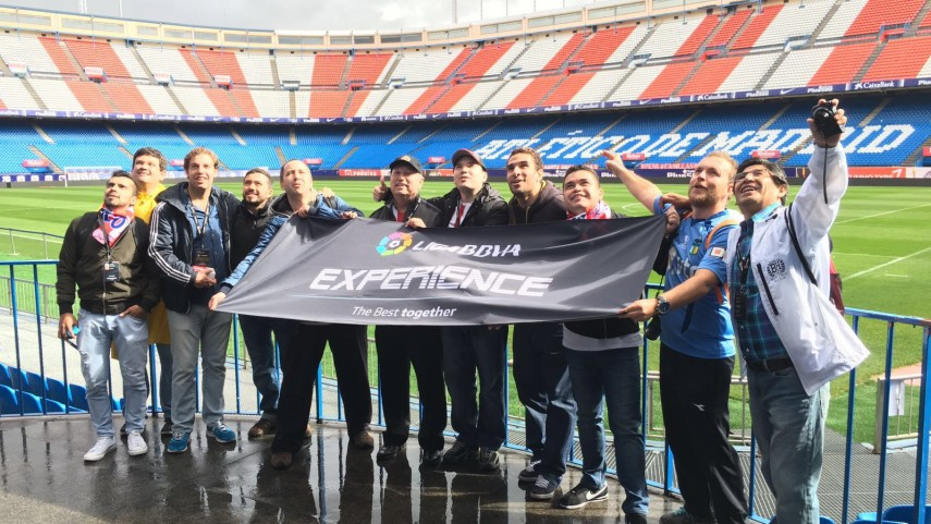 El 11 de la #LigaBBVAExperience disfruta de Madrid