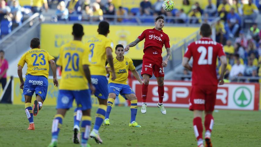 Jony saca un punto para el Sporting en Las Palmas