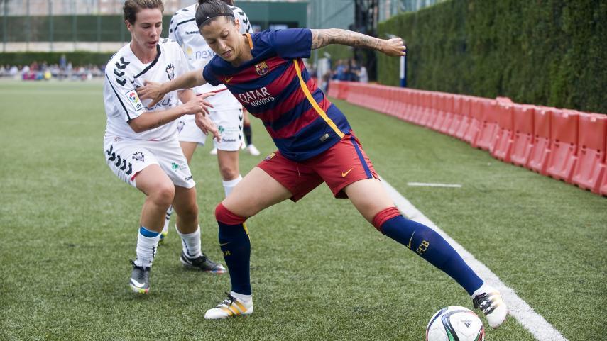 Jenni Hermoso sigue liderando la lista de máximas goleadoras de la Primera División Femenina
