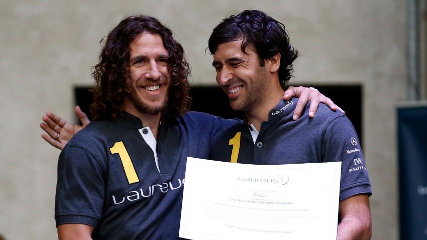 Raúl González, nombrado miembro de la Laureus World Sports Academy
