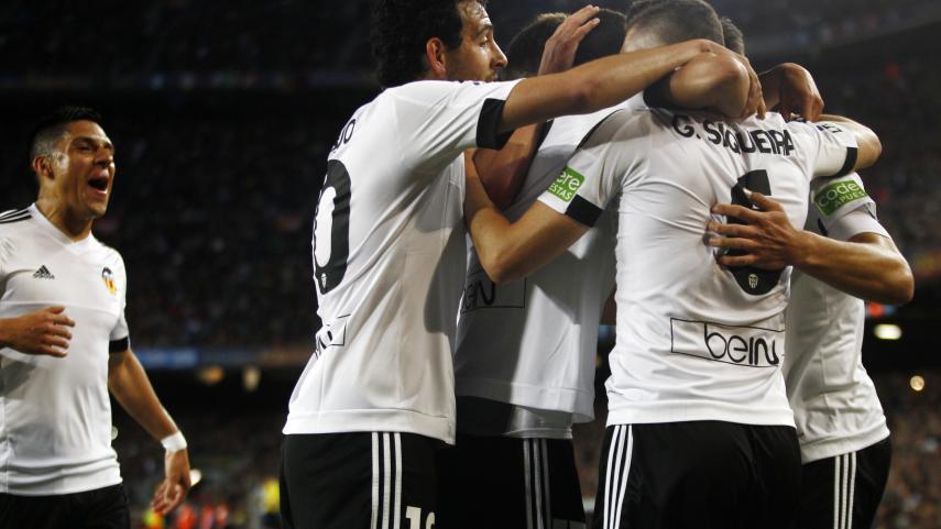 El Valencia aprieta la Liga BBVA