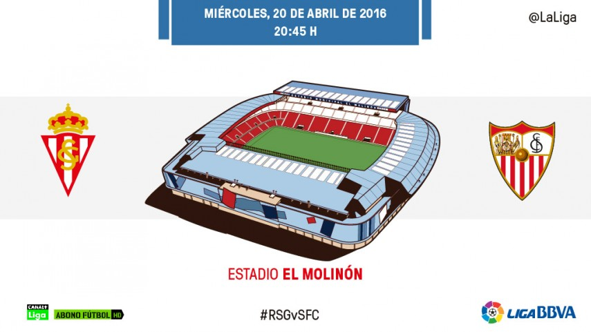 El Sevilla se cruza en el camino de la salvación del Sporting
