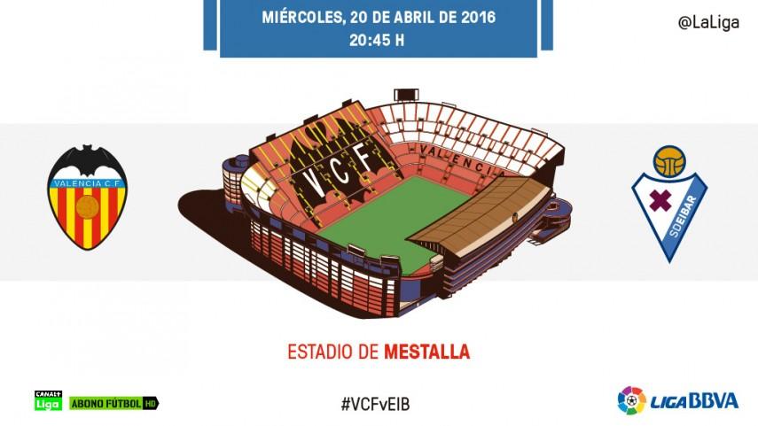 Rivales directos en Mestalla
