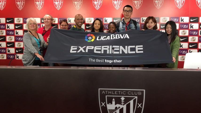 Los fans de la #LigaBBVAExperience se contagian de la pasión por el fútbol de Bilbao