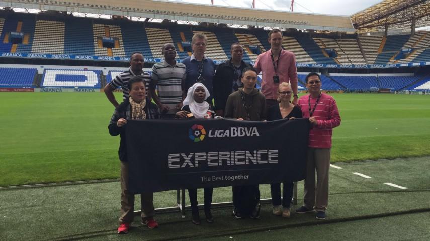 A Coruña y su gente maravilla a la #LigaBBVAExperience