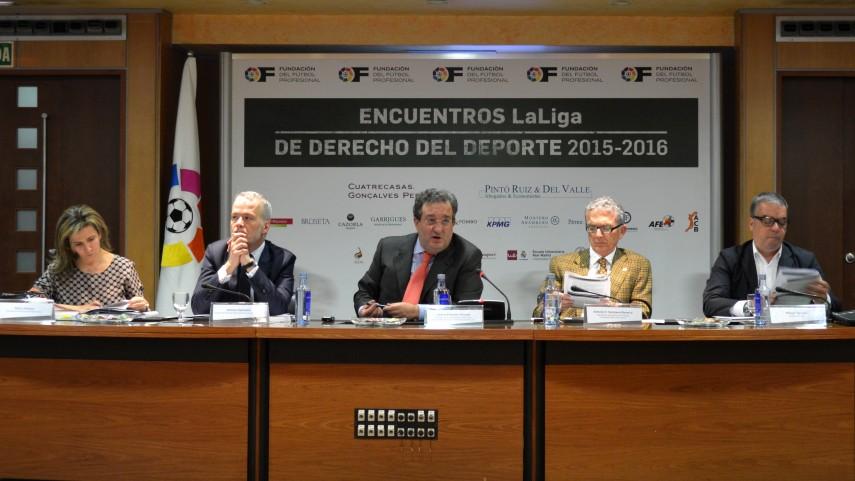 9º Encuentro LaLiga de Derecho del Deporte 2015-2016