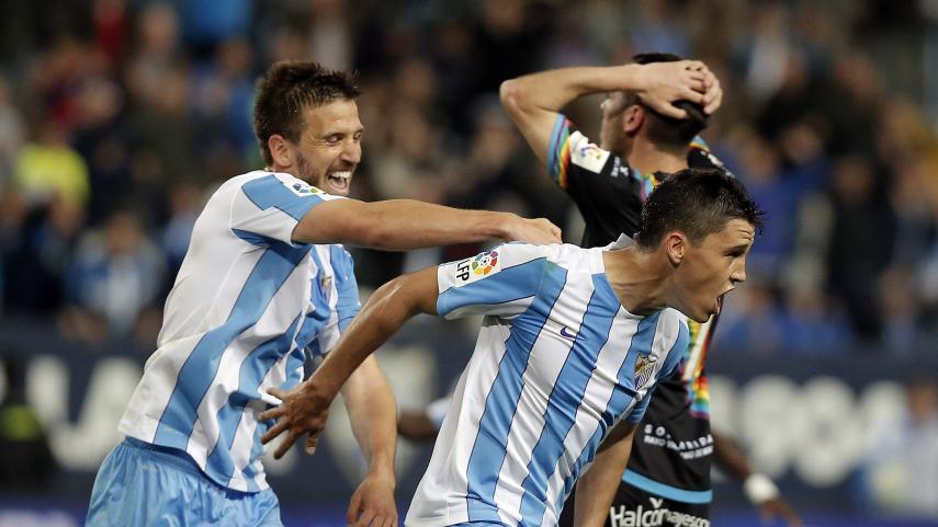 Ricca salva un punto para el Málaga