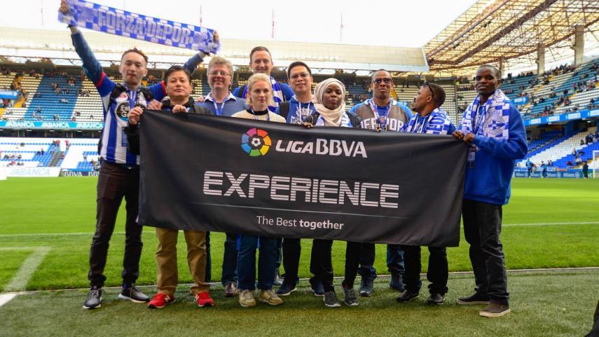 Rotundo éxito de la primera edición de la #LigaBBVAExperience