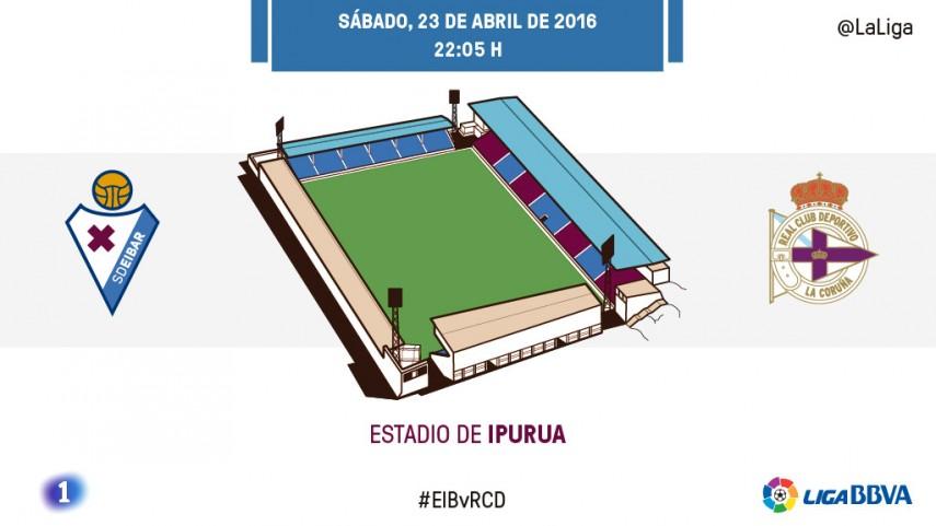 Eibar y Deportivo empiezan a hacer números
