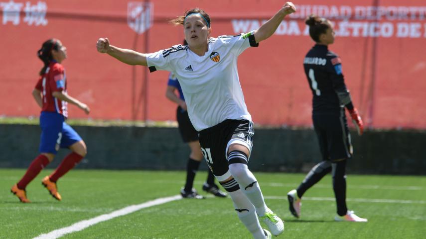 El Valencia aleja al At. Madrid Féminas de la cabeza de la Primera División Femenina