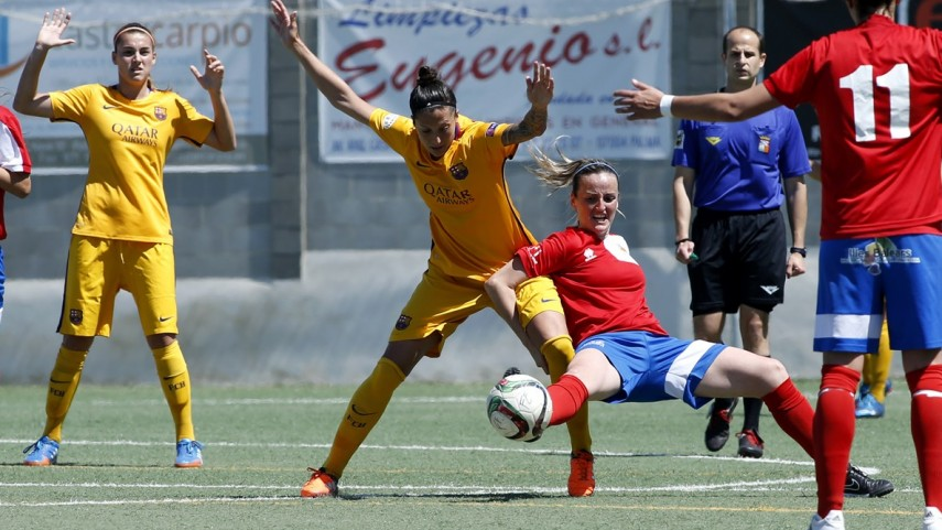 Jenni Hermoso, máxima goleadora de la Primera División Femenina una semana más