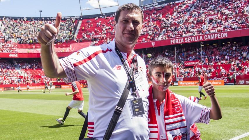 La primera #LigaBBVAExperience de Sevilla culmina con la emoción del derbi