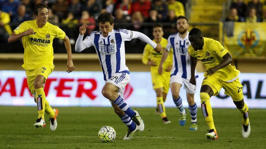 La Real Sociedad consigue un punto en El Madrigal