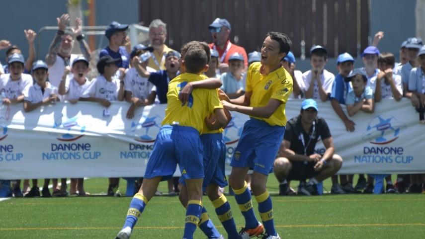 La UD Las Palmas participará en la final nacional de la Danone Nations Cup