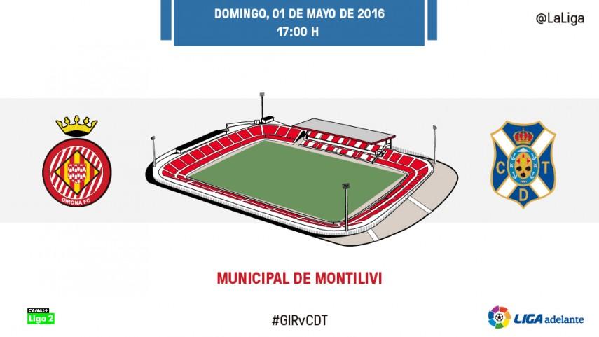 Girona-Tenerife: Objetivo, el play-off