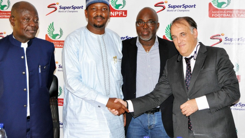 LaLiga se reúne en Nigeria con las altas instituciones del fútbol del país africano