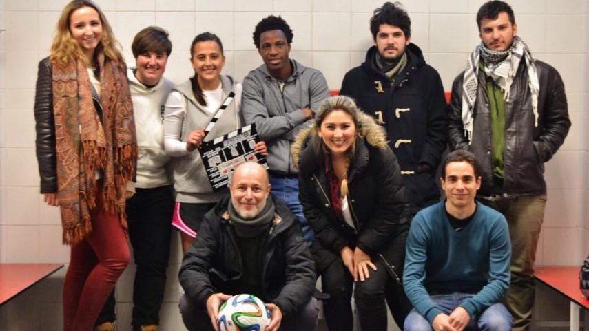 Aintzane Encinas, de futbolista a protagonista de una película