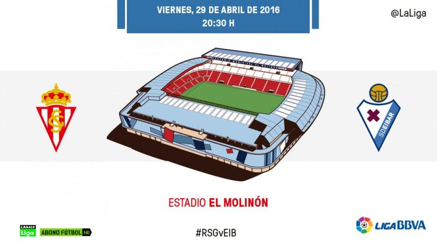 Primera 'final' para el Sporting en El Molinón
