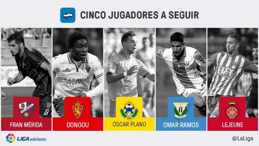 Cinco jugadores a seguir en la jornada 36 de la Liga Adelante