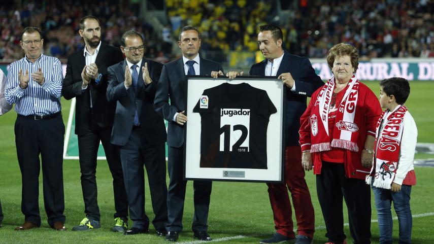 La afición del Granada, 'Jugador 12' de la Liga BBVA