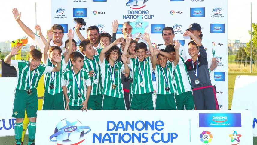 El R. Betis se proclama campeón en la fase sur de la Danone Nations Cup