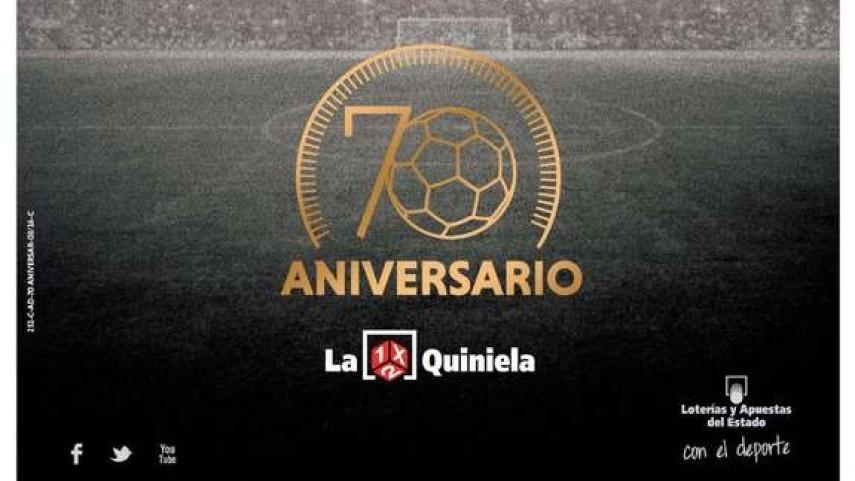 La Quiniela celebra sus 70 años con un Superbote de 5.000.000 euros