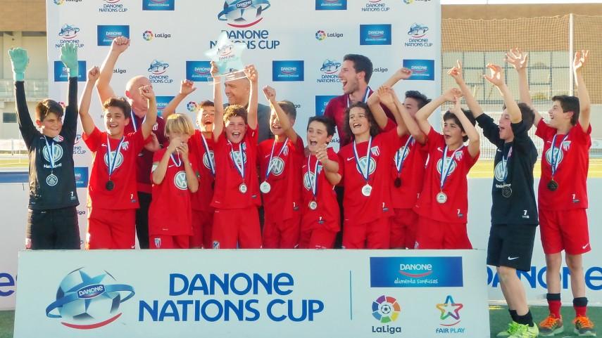La UD Santa Marta gana la fase centro de la Danone Nations Cup