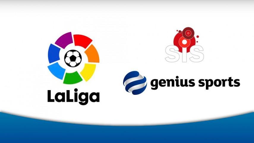 SIS y Genius Sports firman un acuerdo exclusivo para distribuir los datos de apuestas del fútbol español