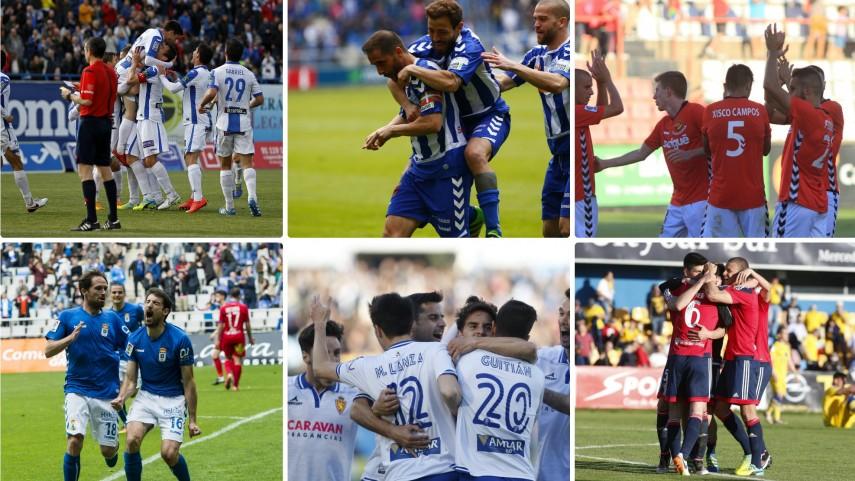 ¿Qué equipo sacará más puntos en la recta final de la Liga Adelante?