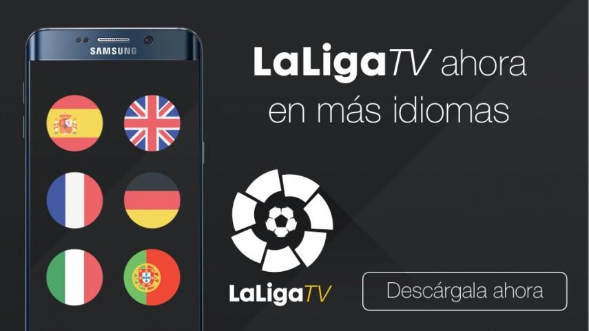 LaLiga TV ahora habla cuatro idiomas más