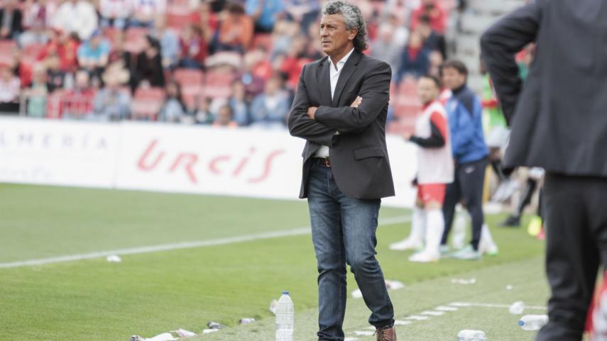 Néstor Gorosito, destituido como entrenador del UD Almería