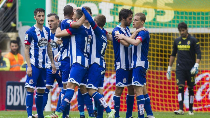 El Deportivo consigue la permanencia en El Madrigal