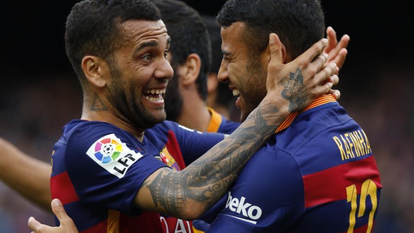 El FC Barcelona golea por la Liga BBVA