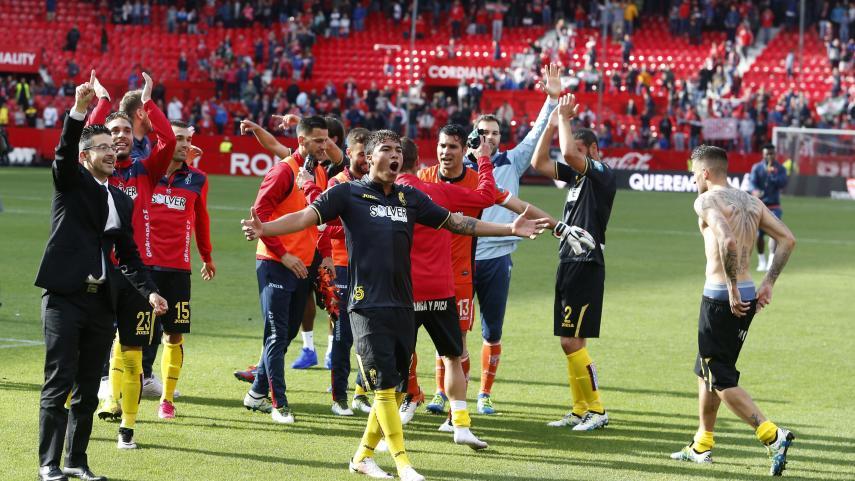 El Granada sella la permanencia en el Sánchez-Pizjuán