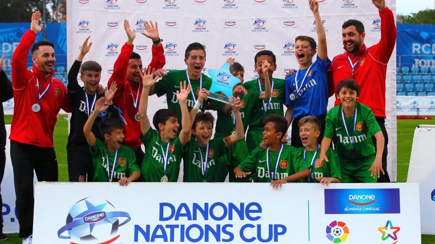 Fundació Damm cierra el listado de los finalistas de la Danone Nations Cup