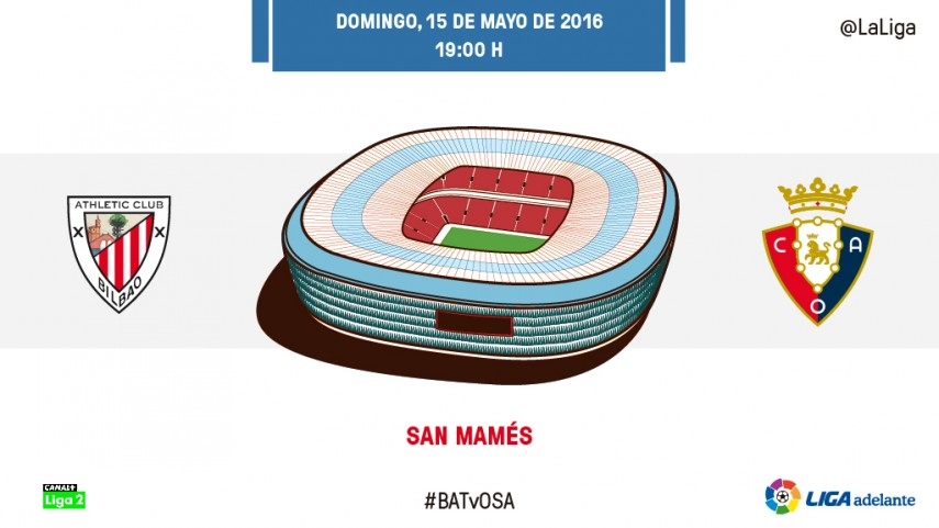 Osasuna, ante la urgencia del Bilbao Athletic
