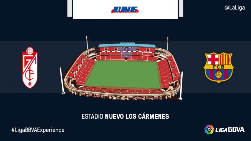 Espectadores de One disfrutarán en directo del Granada - FC Barcelona
