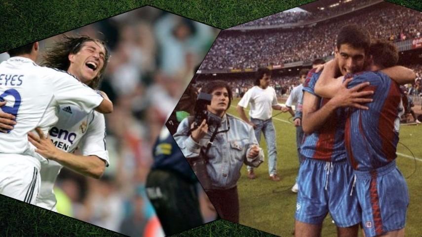 Las Ligas en las que FC Barcelona y Real Madrid se jugaron el título en la última jornada