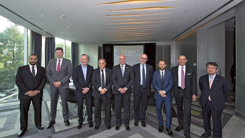 LaLiga participó en la tercera reunión de trabajo del Foro Mundial de Ligas