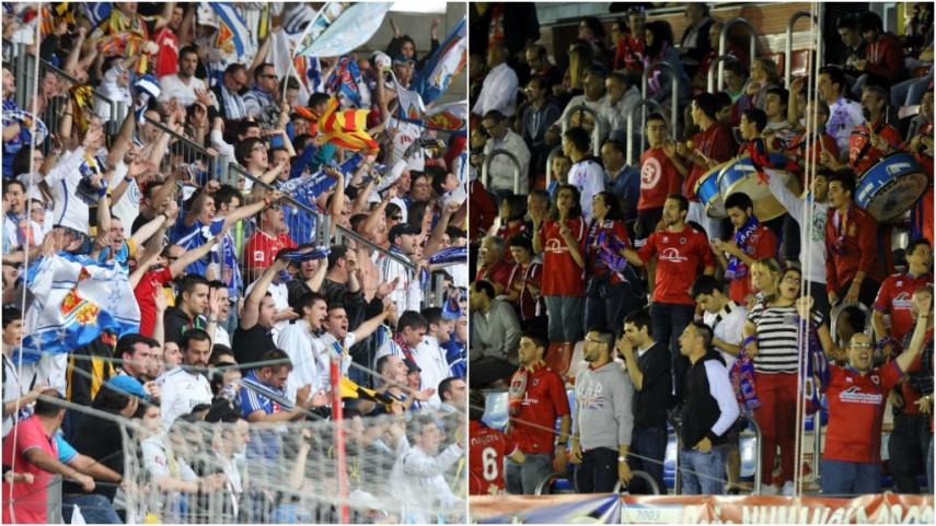Numancia y Zaragoza, una amistad para siempre
