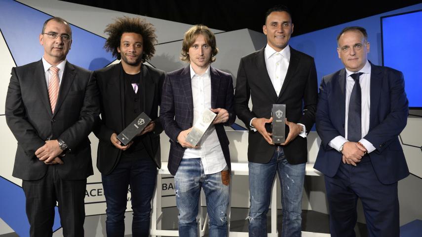 Los Facebook Football Awards premiaron a los mejores de LaLiga