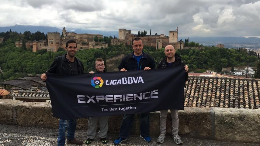 Granada y la Alhambra deslumbran a los fans de la #LigaBBVAExperience
