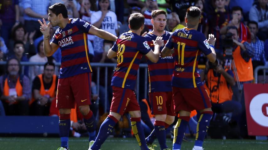El FC Barcelona, campeón de la Liga BBVA 2015/16