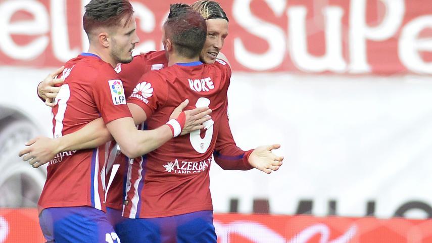 El Atlético cierra la temporada con una sonrisa