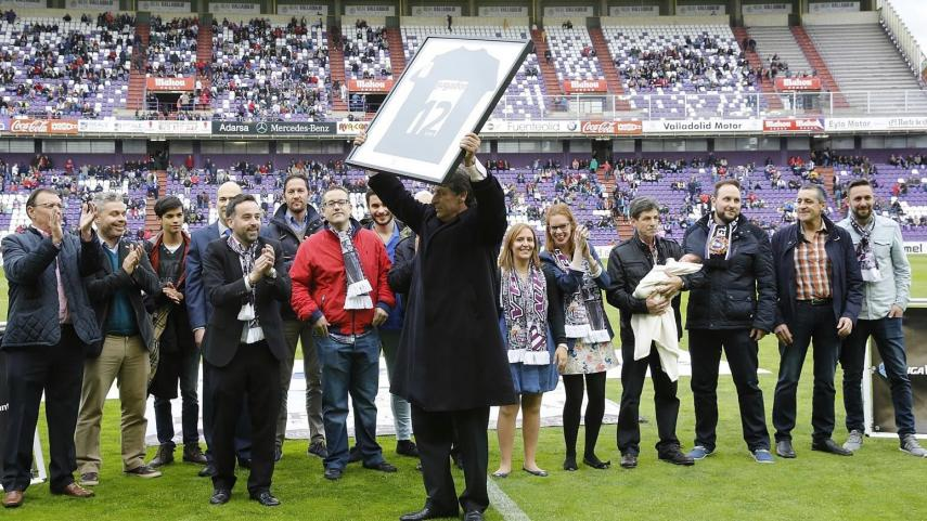 La afición del Valladolid, 'Jugador 12' de la Liga Adelante