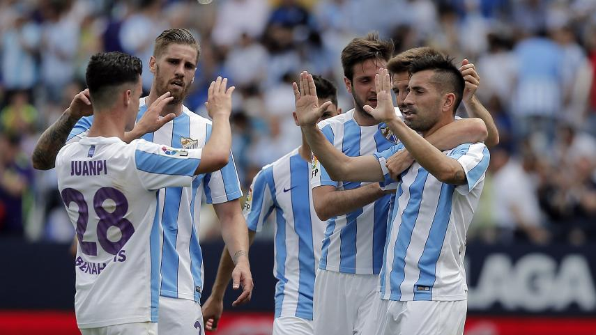 Goleada del Málaga para cerrar la temporada