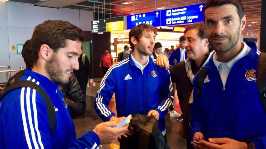 LaLiga y la Real Sociedad proyectan la imagen del fútbol español en EEUU